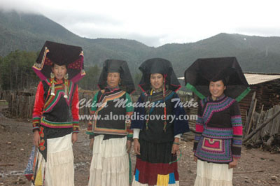 Yi Women from Northwest Yunnan